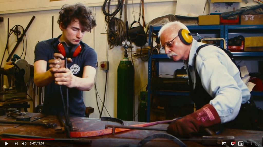 The Willow Tea Rooms Trust Blacksmith Maker film