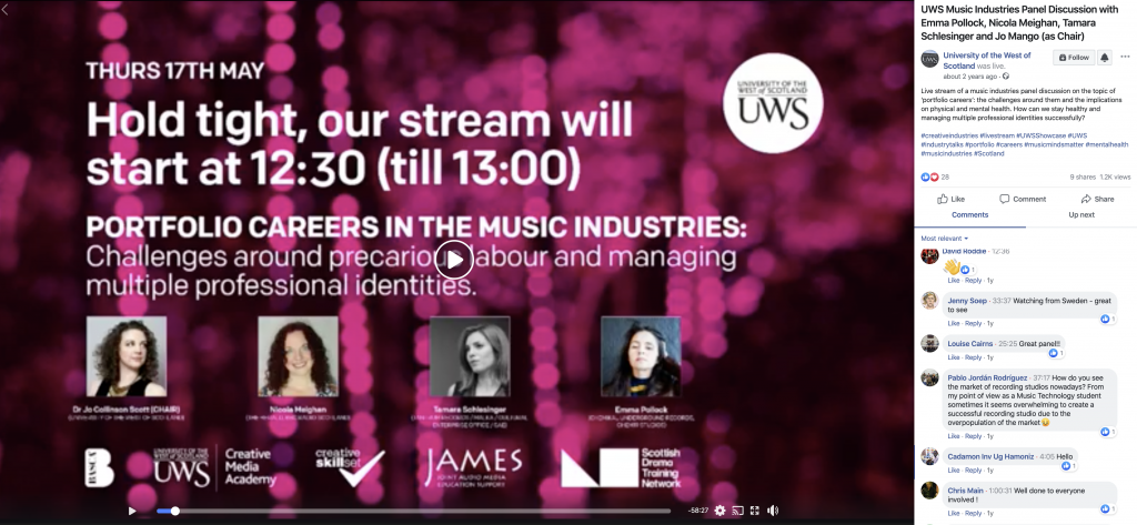 UWS Livestream